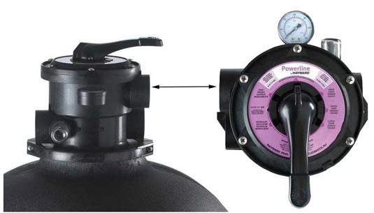 Filtre a sable Hayward Powerline 10M³/H - Filtre à sable Hayward Powerline 10m³/h un équipement et des détails de qualité