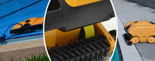 Robot piscine electrique Dolphin WAVE 200XL avec telecommande et chariot - Robot piscine électrique Dolphin WAVE 200XL Le nettoyage ultra efficace