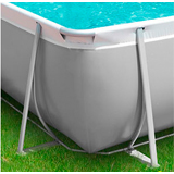 Piscine tubulaire EASY rectangulaire 5,10 x 3m - Avantage de la piscine tubulaire EASY rectangulaire 5,10 x 3m