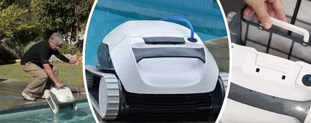 Robot piscine electrique Dolphin E10 - Robot piscine électrique Dolphin E10 Autonome et efficace