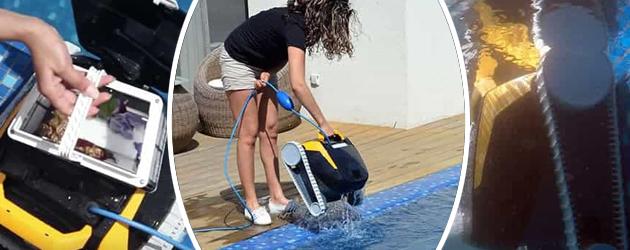 Robot piscine electrique Dolphin E20 - Robot piscine électrique Dolphin E20 Autonome et efficace