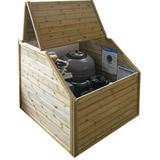 Piscine bois hors-sol BWT myPOOL Urbaine 6.50x3.50m couverture integree - Equipements complémentaires et/ou de série