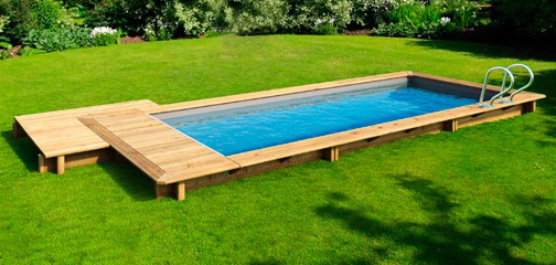 Piscine Bois Hors Sol Proswell Urbaine 6 50x3 50m Couverture