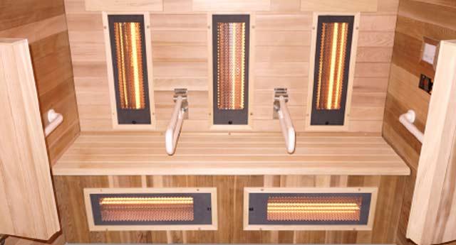 Sauna a vapeur et infrarouge COMBI ACCESS 4 places - Avantages du sauna à vapeur et infrarouge COMBI ACCESS