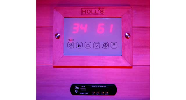 Sauna a vapeur et infrarouge COMBI ACCESS 4 places - Technologies et équipements du sauna à vapeur et infrarouge COMBI ACCESS