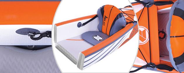 Kayak gonflable 2 places Zray DRIFT 426 - La technologie Drop Stitch