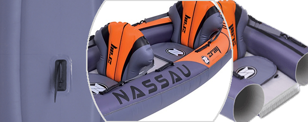 Kayak gonflable Zray NASSAU 2 places - La technologie Drop Stitch