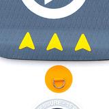 Paddle gonflable ARGO 10.6 COASTO Zray - Paddle gonflable ARGO 10.6 COASTO Zray Équipé et performant