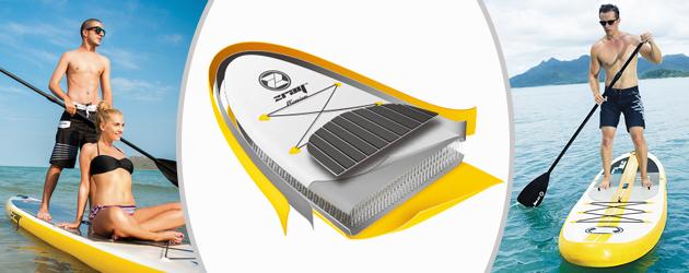Paddle gonflable A4 PREMIUM Zray - Paddle gonflable A4 PREMIUM Zray Une double peau plus résistante