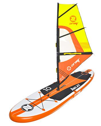 Paddle gonflable W1 Zray avec voile - Paddle gonflable W1 Zray pour l'initiation à la planche à voile