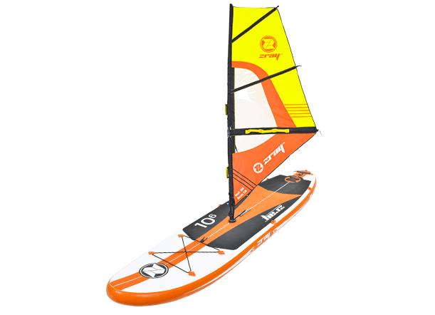 Paddle gonflable W2 Zray avec voile - Paddle gonflable W2 Zray pour l'initiation à la planche à voile