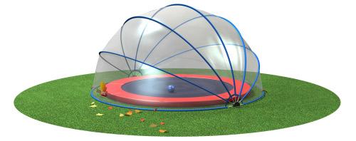 Abri ovale piscine ou spa SUNNY TENT L L7,50xH2,70m - Utilisations possibles de l'abri ovale piscine ou spa SUNNY TENT L