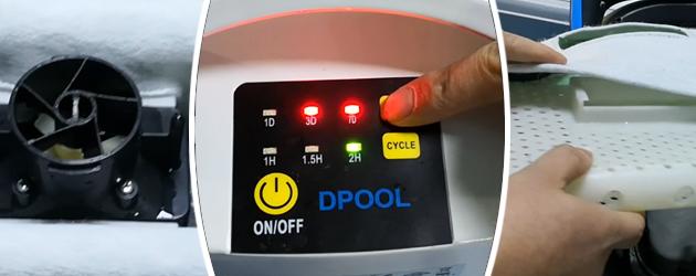 Robot piscine electrique Bestway SAPHYR - Bestway SAPHYR Rapide, précis et redoutable d'efficacité