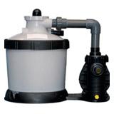 Kit mini piscine P-PSC PARADIS BLEU BWT myPOOL filtre a sable 3x3x1,50m - Kit mini piscine P-PSC PARADIS BLEU BWT myPOOL Une filtration de qualité