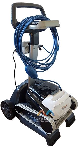 Robot piscine electrique Dolphin POOLSTYLE ADVANCED avec chariot - Chariot pour robot piscine électrique Dolphin POOLSTYLE ADVANCED