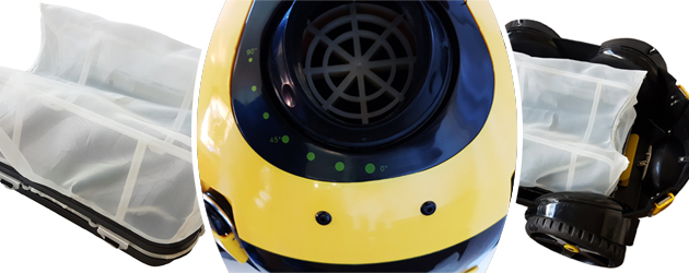 Robot piscine electrique Bestway Naia SUPERKLEAN - Le robot nettoyeur de piscine électrique Bestway Naia SUPERKLEAN