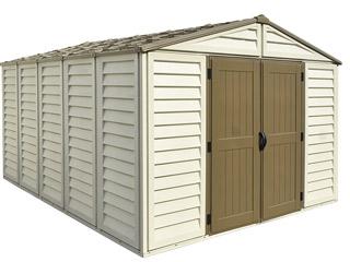 Lot de 2 étagères pour abri jardin WOODSTYLE Duramax 100x15 cm sur ...