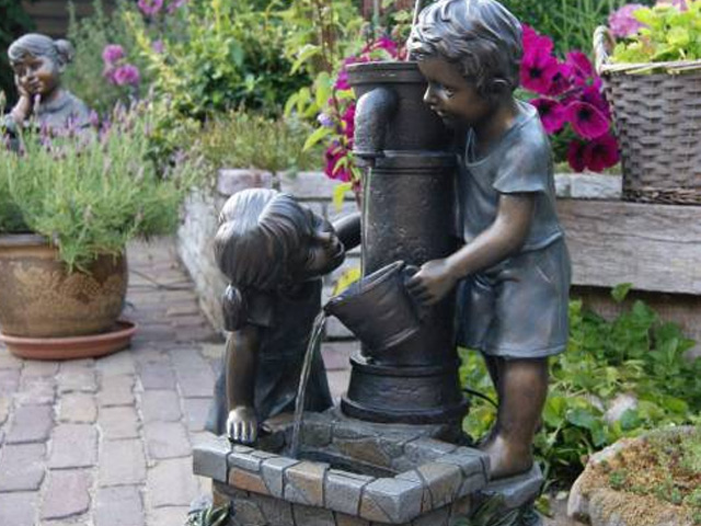 Kit complet fontaine de jardin et terrasse ATLANTA Ubbink