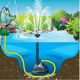 Pompe pour bassin ELIMAX 2500 Ubbink - Possibilité d'installation de la pompe pour bassin ELIMAX 2500 Ubbink