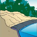 Cours d'eau WOLGA element droit Ubbink - Montage du cours d'eau WOLGA Ubbink