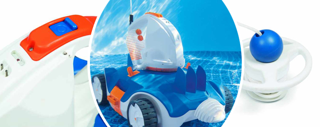 Robot piscine automatique sans fil Bestway AQUATRONIX - Robot piscine automatique Bestway AQUATRONIX