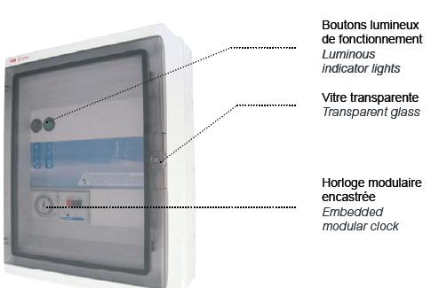 Coffret PANORAMA PA 310 filtration + projecteur 100w piscine CCEI - Coffret PANORAMA PA 310 filtration + projecteur 100W piscine CCEI