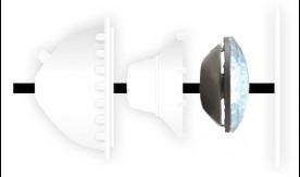 Eclairage piscine ampoule EOLIA II WEM 40 9 leds blanc 40 W CCEI - Installation de l'ampoule EOLIA II WEM 40 9 leds blanc 40 W CCEI