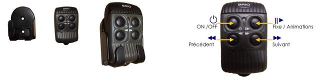 Radiocommande BRiO RC+ pour projecteur piscine RGBW CCEI - Radiocommande BRiO RC+ pour projecteur piscine RGBW CCEI