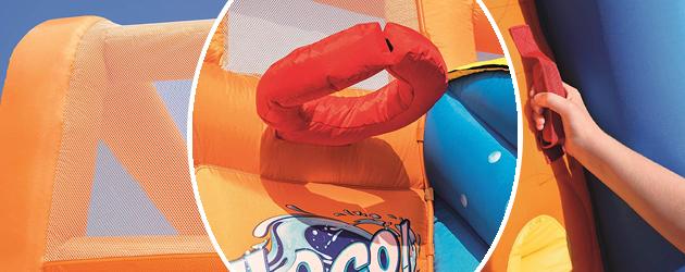 Aire de jeu soufflerie en continu TSUNAMI WAVES Bestway 505X340x265cm - Aire de jeu TSUNAMI WAVES Bestway Pour des heures d'amusement et de joie