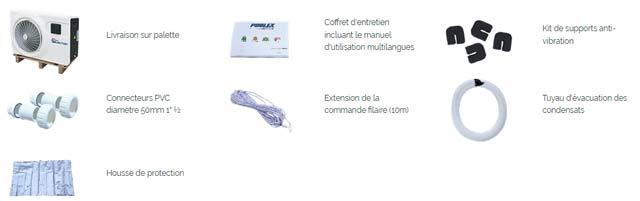 Pompe a chaleur Poolex JETLINE SELECTION 95W monophasee - Pompe à chaleur Poolex JETLINE SELECTION Une offre complète et de solides garanties