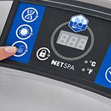 Spa NetSpa OCTOPUS 6 places aspect tresse avec mobilier - Caractéristiques du spa NetSpa OCTOPUS PREMIUM