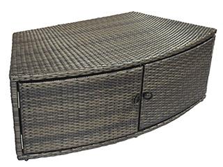 Spa NetSpa OCTOPUS 6 places aspect tresse avec mobilier - Pack complet Spa OCTOPUS PREMIUM 5 élements pour habiller votre spa