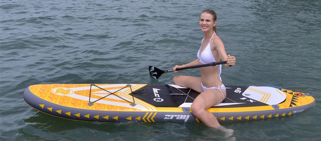 Paddle gonflable Zray X-Rider 9'9 - Paddle gonflable Zray X-Rider 9'9