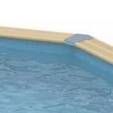 Kit piscine bois Nortland Ubbink OCEA octogonale 355x550x120 liner bleu - Piscine bois Nortland Ubbink OCEA Complète et prête à nager