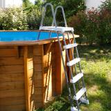 Piscine bois Nortland Ubbink SUNWATER All in One 410 x 120cm Hexagonale - Piscine bois Nortland Ubbink SUNWATER All in One 410 Complète et prête à nager