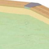 Piscine bois Nortland Ubbink SUNWATER octogonale 300x490x120cm liner beige - Piscine bois Nortland Ubbink SUNWATER SUNWATER octogonale allongée Complète et prête à nager
