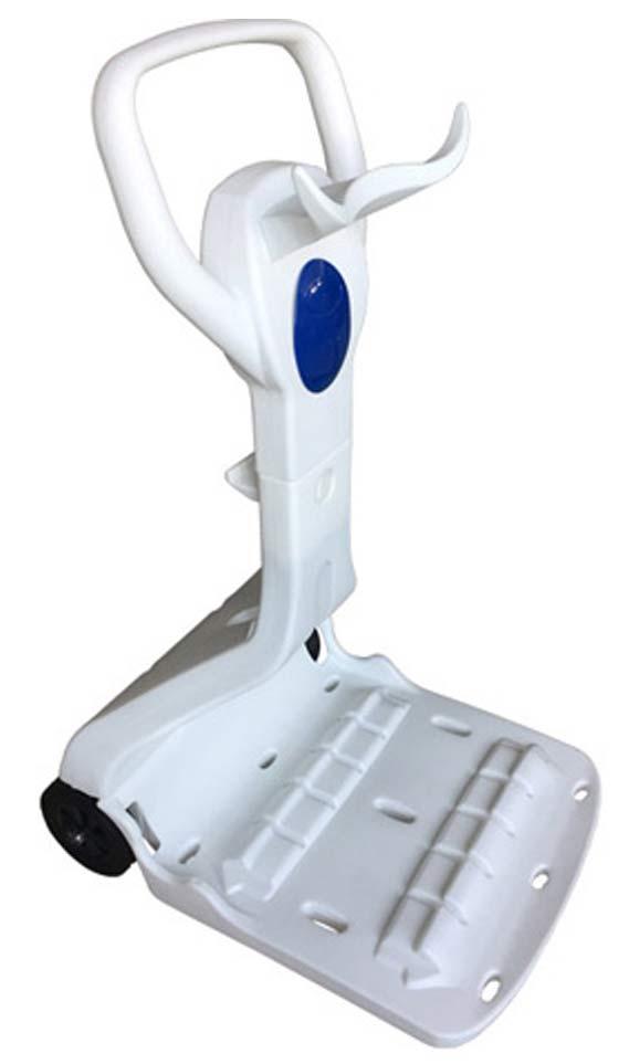 Robot piscine electrique Bestway RAPTOR LED avec chariot - Chariot pour robot piscine électrique Bestway RAPTOR LED