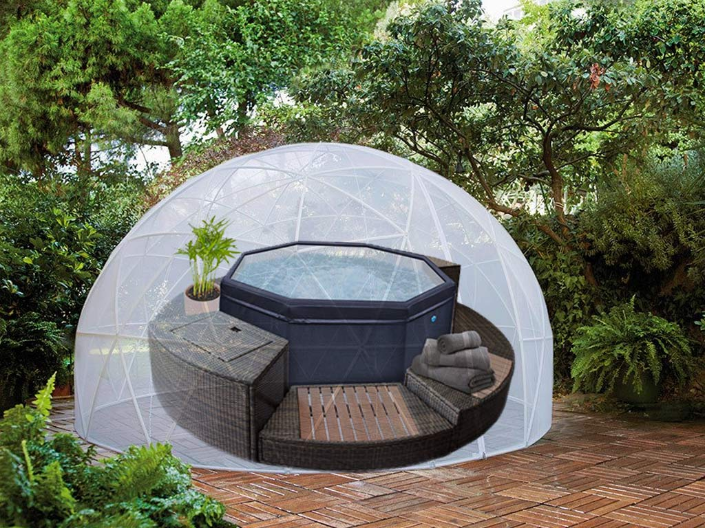 Couverture D Hiver Pour Abri Bulle Piscine Et Spa Garden Igloo Sur
