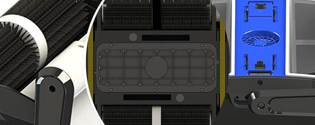 Robot piscine electrique Bestway CLEAN POOL - Robot piscine Bestway CLEAN POOL Rapide, précis et redoutable d'efficacité