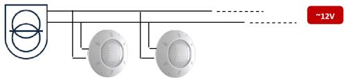 Projecteur plat piscine Seamaid eclairage blanc 60 LED 1450 lumen 13,5W - Projecteur plat piscine Seamaid éclairage blanc 60 LED 1450 lumen 13,5W