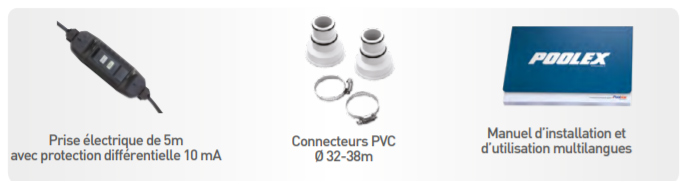 Pompe a chaleur Poolex NANO ACTION 3000w monophasee - Pompe à chaleur piscine Poolex NANO ACTION Une offre complète et de solides garanties