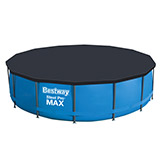 Kit piscine Bestway STEEL PRO MAX ronde Ø427x107cm filtration cartouche - Kit piscine complet Bestway STEEL PRO MAX POOL