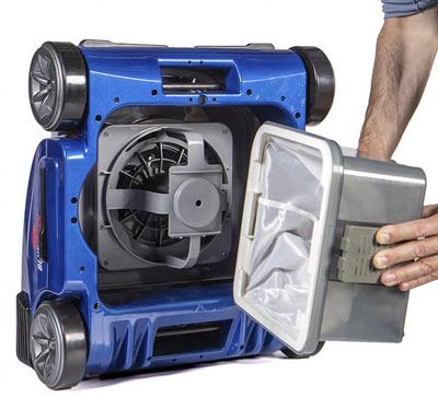 Robot nettoyeur electrique piscine Pentair BLUESTORM - Entretien facile du robot nettoyeur électrique piscine Pentair BLUESTORM