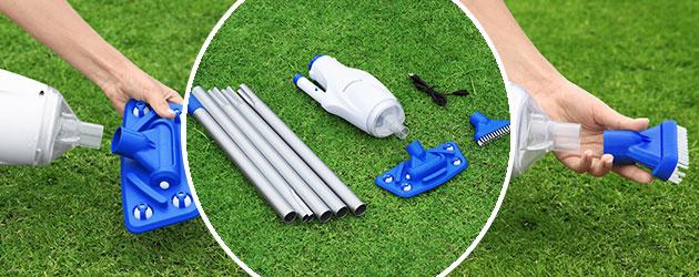 Balai aspirateur sans fil AQUAREACH Flowclear Bestway piscine et spa - Balai aspirateur AQUAREACH Flowclear piscine et spa