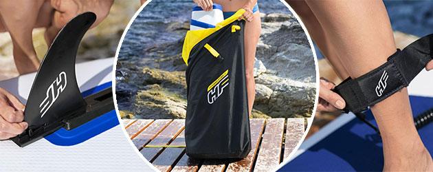 Paddle gonflable Bestway OCEANA 305x84x12cm 1 place convertible kayak - Paddle gonflable Bestway Pour des heures d'amusement et de joie