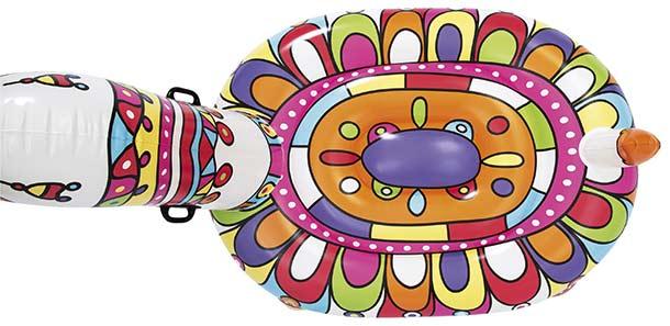 Bouee XXL gonflable piscine Bestway LAMA 193x151cm 1 place - Bouée fauteuil gonflable Bestway Pour des heures de détente et de calme
