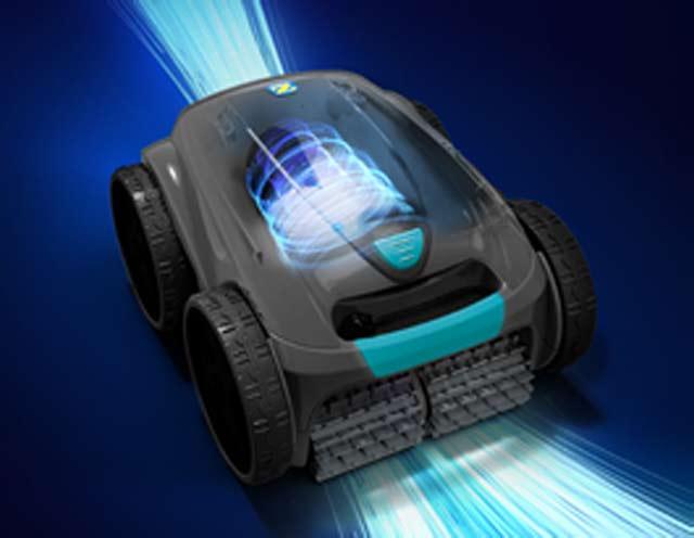 Robot piscine electrique Zodiac VORTEX OV3480 2021 avec chariot - Robot piscine électrique Zodiac VORTEX OV3480 Effet VORTEX pour une aspiration ultra puissante
