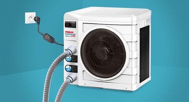 Pompe a chaleur piscine Poolex NANO ACTION - Caractéristiques techniques de la pompe à chaleur NANO ACTION