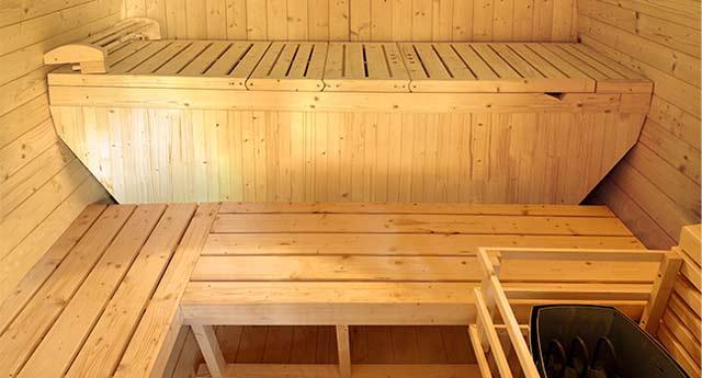 Sauna a vapeur d'exterieur GAIA OMEGA 6 places - Technologies et équipements du sauna à vapeur d'extérieur GAIA OMEGA