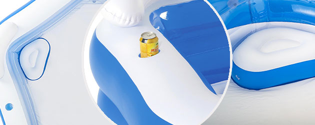 Piscine gonflable pour enfants Bestway octogonale 213 x 206 x 69 cm - Avantages de la piscine Bestway octogonale pour enfants